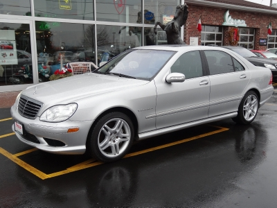2003 Mercedes-Benz S-Class S55 AMG Stock # 2874 for sale