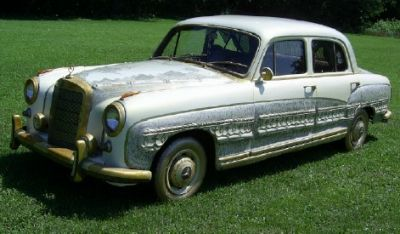 Reina international auto 1959 mercedes benz 220s for Gold mercedes benz price