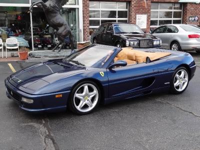 reina international auto 1995 ferrari f355 spider. Black Bedroom Furniture Sets. Home Design Ideas