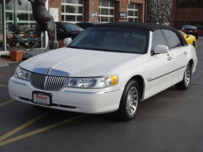 2001 Lincoln Town Car Signature Stock 0249 For Sale Near