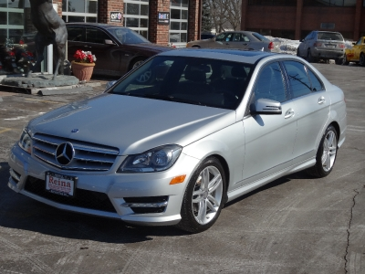2012 mercedes-benz c-class c300 sport 4matic avant garde package