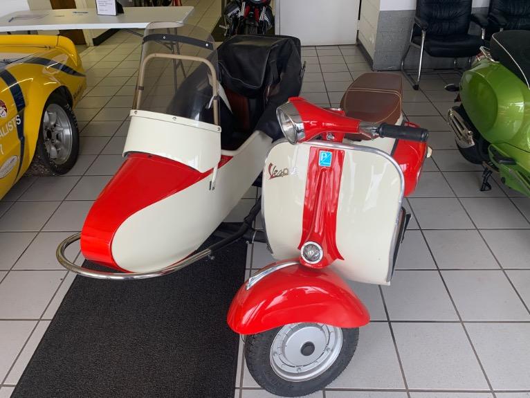 1964 Vespa 150 Sidecar Stock 3562 For Sale Near Brookfield