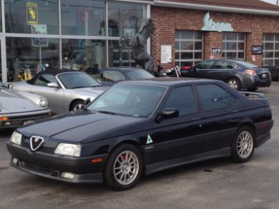 1995 alfa romeo 164 q quadrifoglio stock # 0266 for sale near