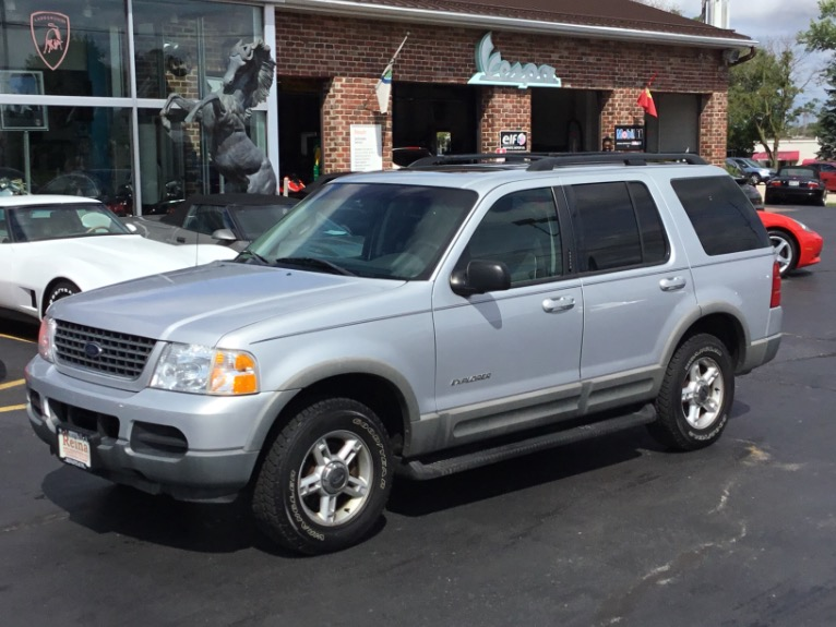 2002 Ford Explorer Xlt >> 2002 Ford Explorer Xlt 4x4 Stock 9275 For Sale Near