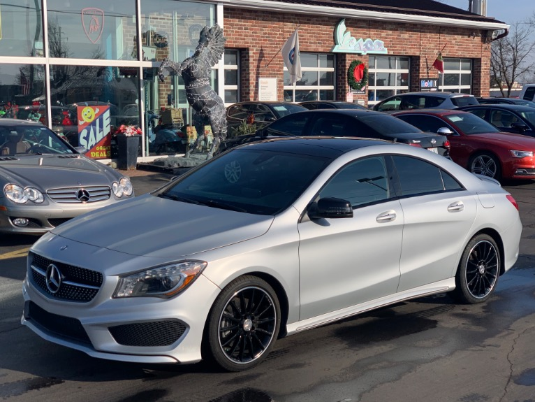2016 Mercedes-Benz CLA 250 4Matic Sport