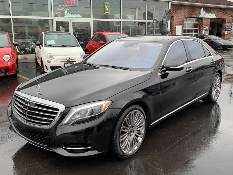 2017 Mercedes-Benz S 550 4-Matic