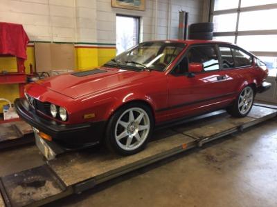 1986 alfa romeo gtv6 stock # 7826 for sale near brookfield, wi | wi