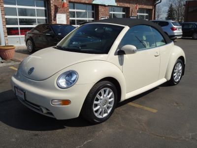 2005 Volkswagen New Beetle Convertible Gls Stock 5126 For Sale Near