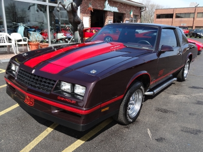 1987 Chevrolet Monte Carlo Ss Stock 7338 For Sale Near