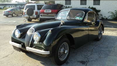 Used 1953 Jaguar XK120FHC Fixed Head Coupe | Brookfield, WI