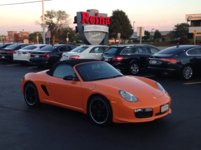 Used Porsche Boxster Limited Edition S Of