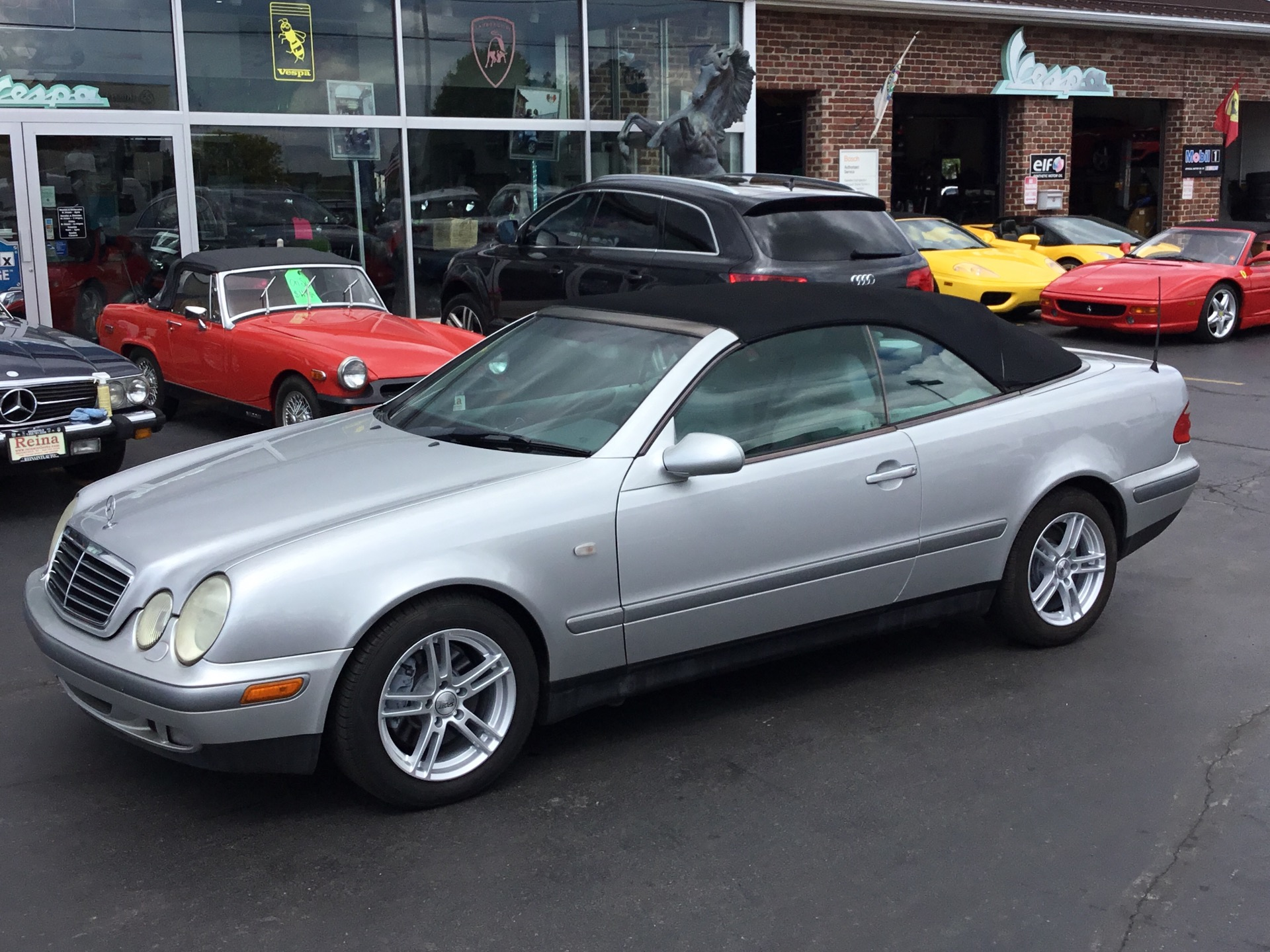 1999 mercedes benz clk class clk 320 stock 9229 for sale. Black Bedroom Furniture Sets. Home Design Ideas