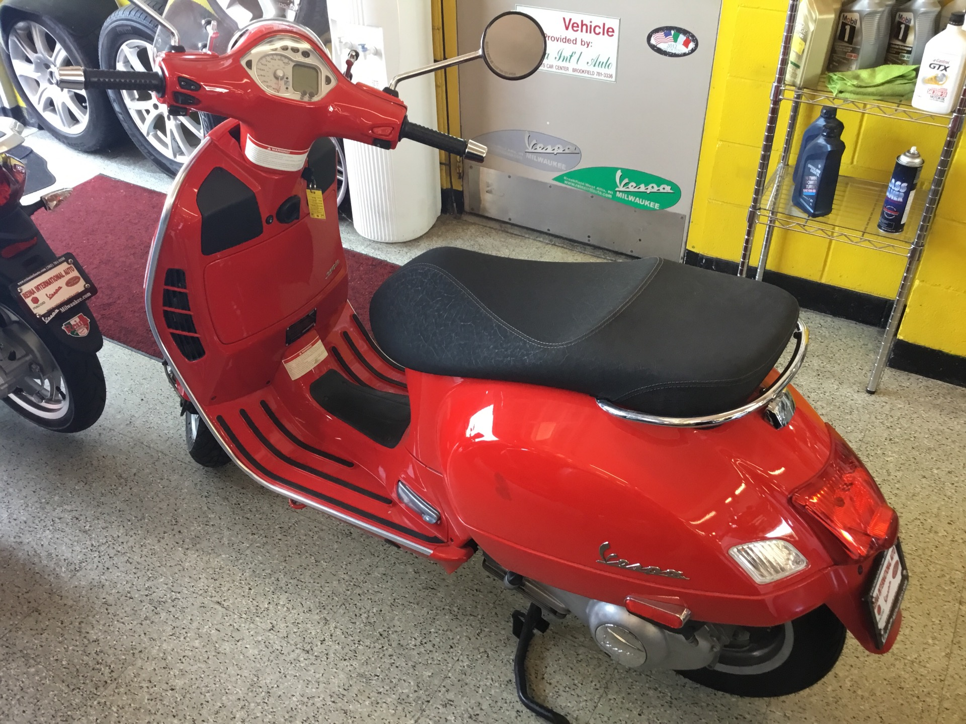 Used-2009-VESPA-250IE