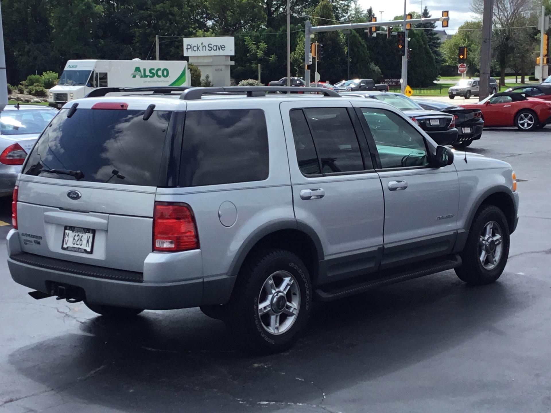 Used 2002 ford explorer xlt
