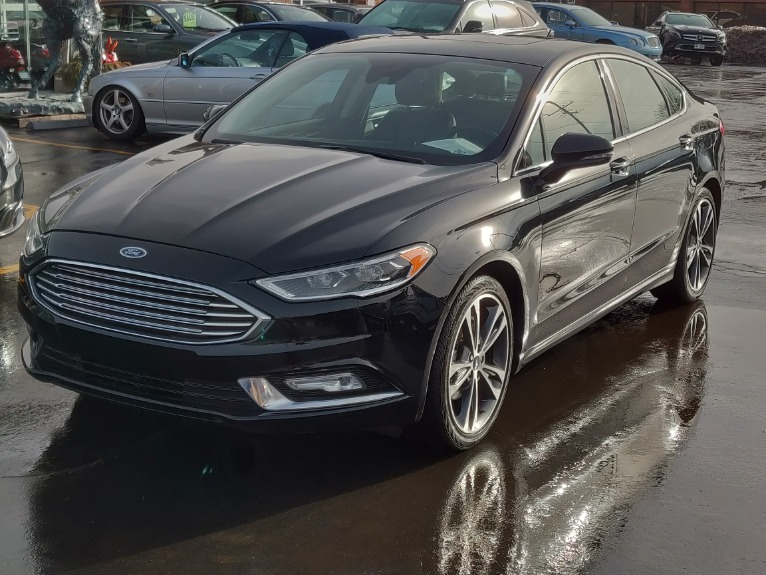 Used 2017 Ford Fusion Titanium | Brookfield, WI