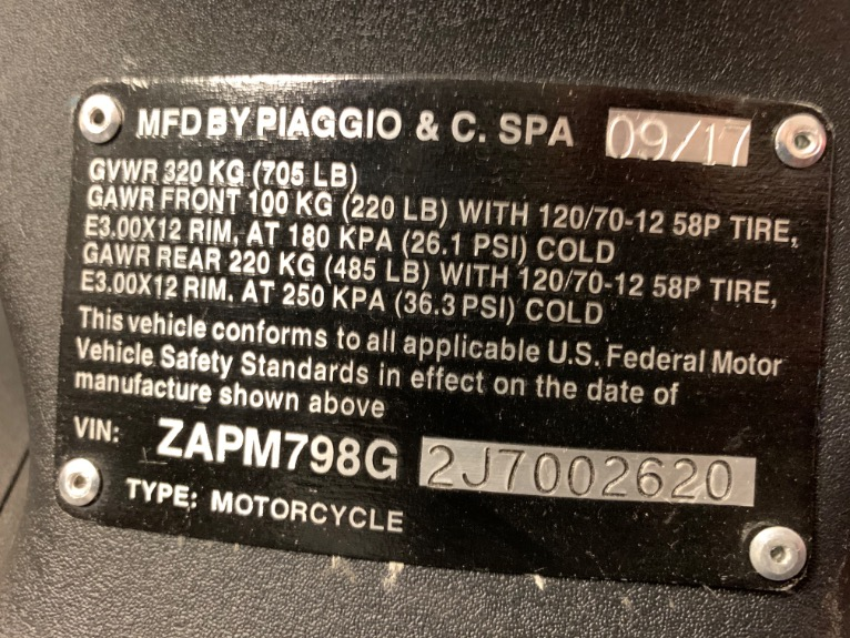 Used-2018-Piaggio-Fly-150