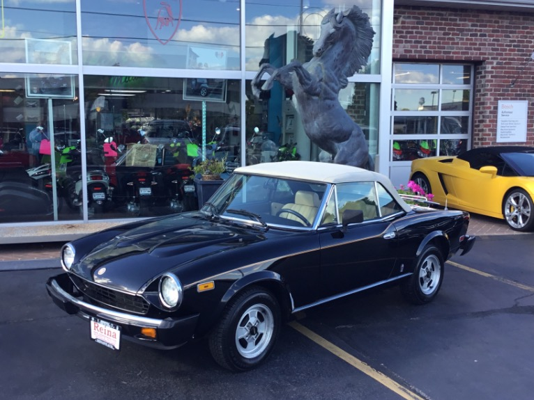 Used 1981 FIAT 2000 Spider 124 | Brookfield, WI