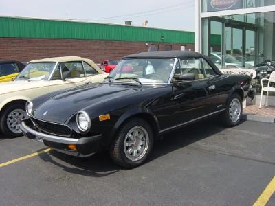 Auto Loan Calculator Edmunds >> 1985 Fiat Spider Stock # 6124 for sale near Brookfield, WI | WI Fiat Dealer