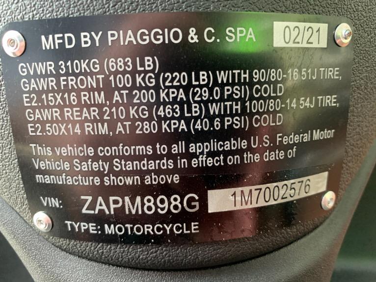New-2021-PIAGGIO-Liberty-S-150
