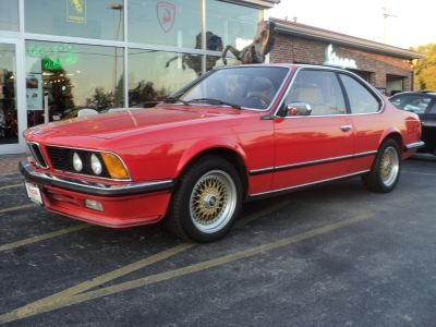 1984 bmw 635 csi euro model stock 4379 for sale near brookfield