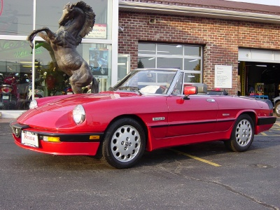 Alfa Romeo Spider Quadrifoglio Stock For Sale Near - 1988 alfa romeo spider for sale