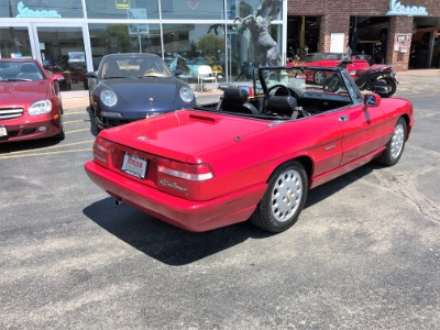 Alfa Romeo Spider Veloce Com Edition Veloce Stock For - 1993 alfa romeo spider for sale