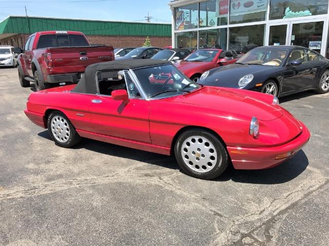 Alfa Romeo Spider Veloce Com Edition Veloce Stock For - Alfa romeo spider 1994