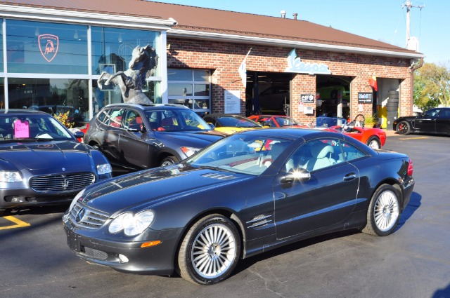 2003 mercedes benz sl class sl500 stock 3823 for sale for Mercedes benz dealers wisconsin