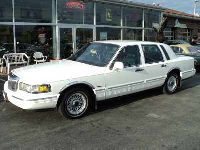 1996 Lincoln Town Car Executive Stock 7196 For Sale Near