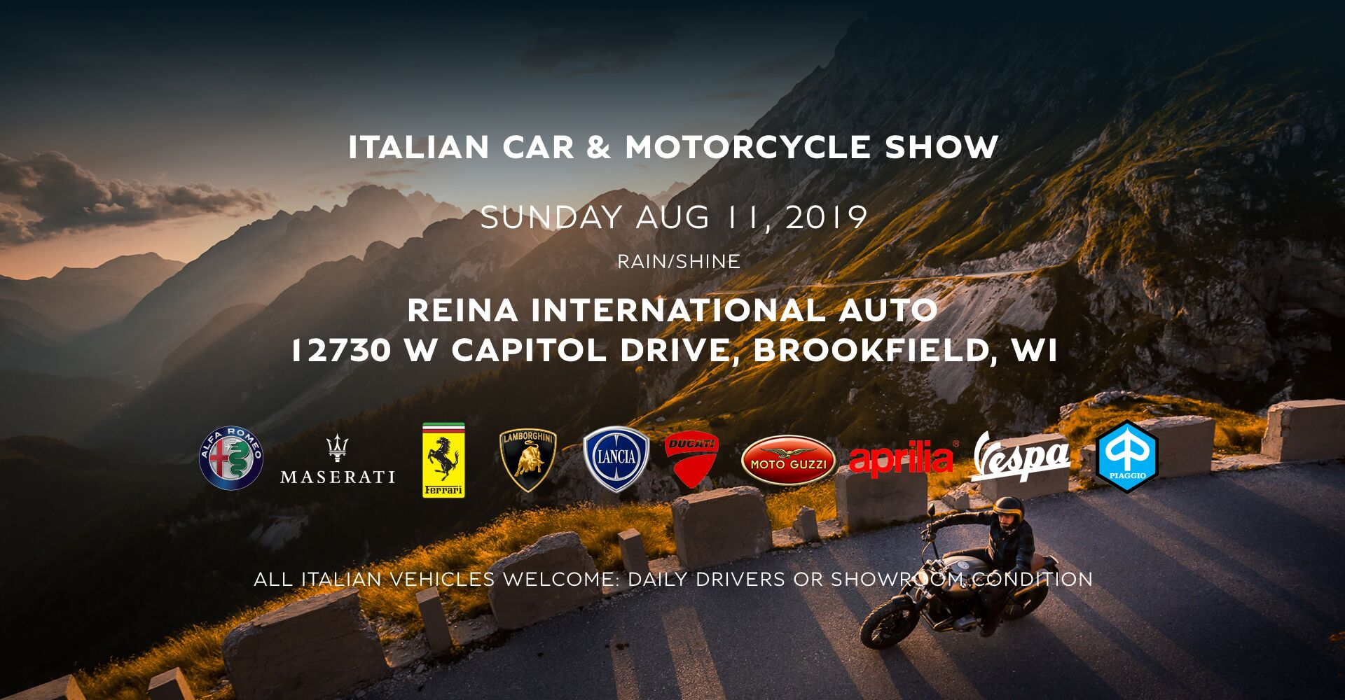 22nd Annual Italian Car and Motorcycle Show